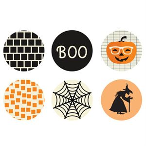 Picture of Halloween Medium Locket Backdrops